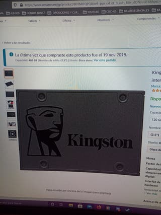 Kingston A400 SSD SA400S37/480GB