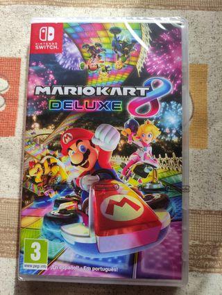 Videojuego Mario Kart 8 Deluxe