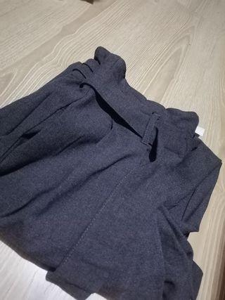 pantalón ancho del Zara
