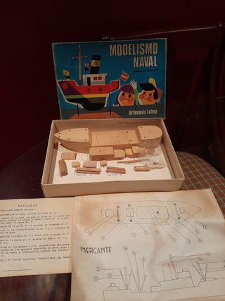 maqueta barco modelismo naval. mod Mercante