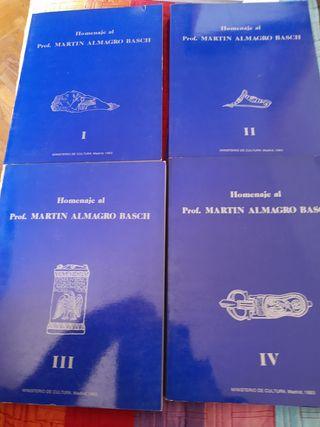 Homenaje al Profesor Martín Almagro Basch