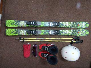 equipo esquí infantil