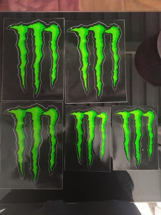 pegatinas Monster Energy