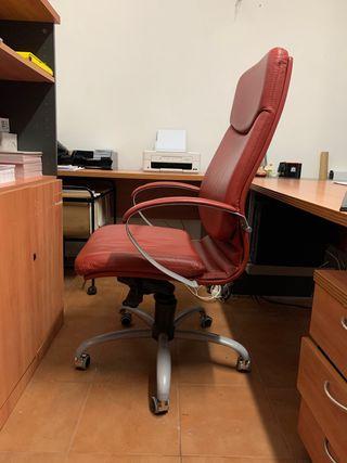 Silla de escritorio polipiel
