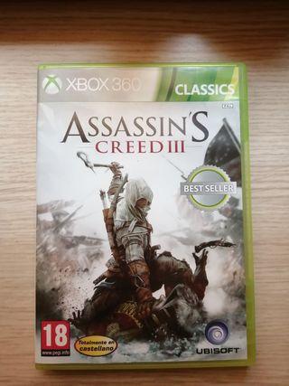 ASSASSINS CREED III - Xbox360