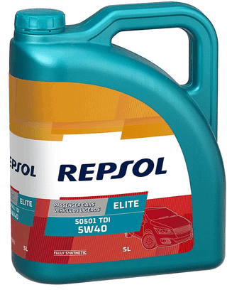 REPSOL ELITE 50501 TDI 5W40 5 LITROS
