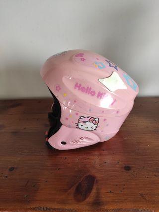 casco de esqui niña