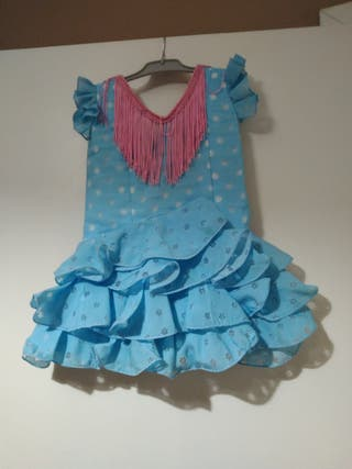 trajes flamenca niña,