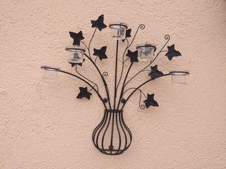 Porta velas Jardin