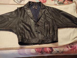 chaqueta cuero vintage
