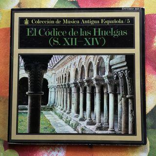 El Códice de las Huelgas siglo XII - XIV vinilo lp