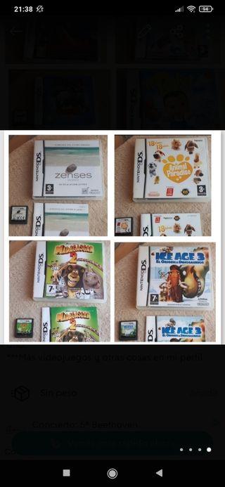 Videojuegos Nintendo DS/3DS