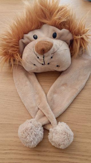 Gorro/disfraz león 1/3 años