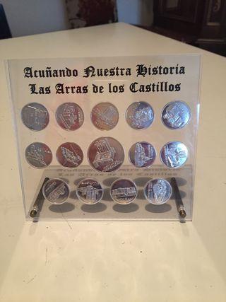 Monedas de platas 925 milésimas