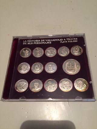 Monedas de plata. 925 milésimas.
