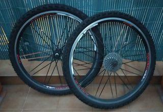 Rueda de bicicleta de 26 pulgadas