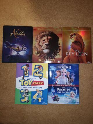 Películas Disney Blu-ray