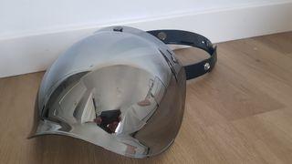 Visera casco