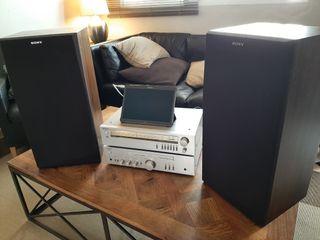 Equipo Sony vintage HIFI