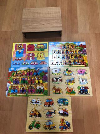 Pack de puzzle infantil