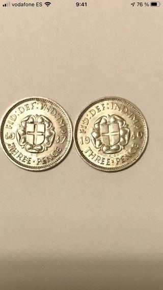 Plata , 50 monedas de plata