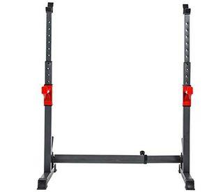 Rack musculación Jaula de potencia soporte pesas