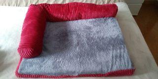 cama de perro o gato nueva