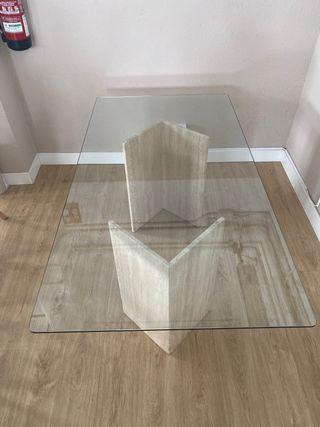 Mesa de Cristal de 1,70*90