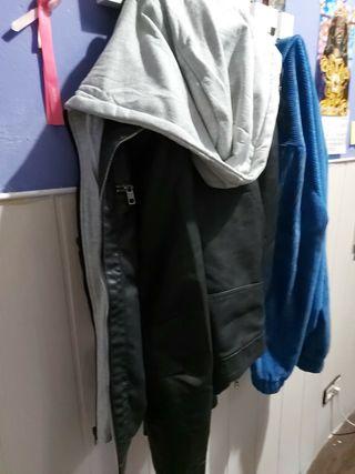 chaqueta cuero '