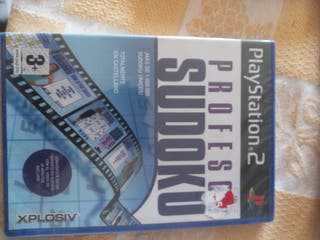 Juego PlayStation 2 Profesor Sudoku