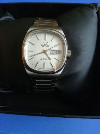 Reloj suizo automatico Fersay