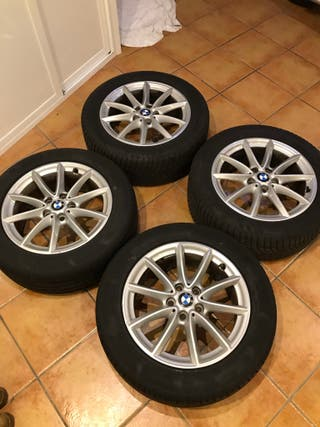 """LLANTAS 17"""" + NEUMÁTICOS BMW X1/X2"""