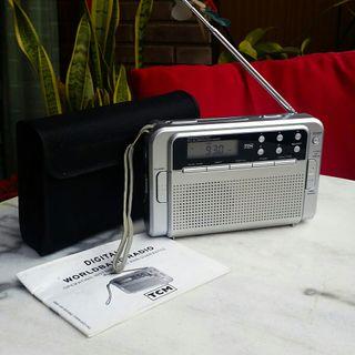 Receptor TCM 226366 Radio Mundial Portátil Digital