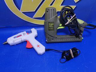 Lote Grapadora electrica GRAPAR + pistola de cola
