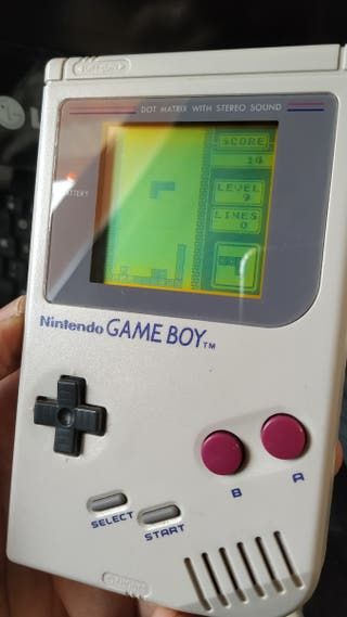 Gameboy clásica+ cable USB + funda + tetris