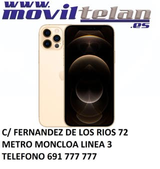 IPHONE 12 PRO MAX 256GB GOLD IMPECABLE TELF+CARGAD