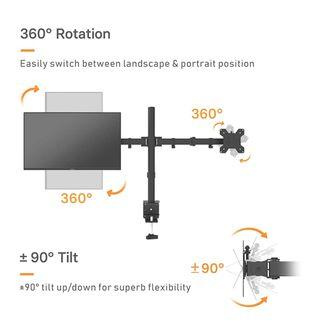 soporte vesa para dos pantallas,