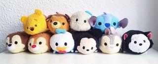 Pack 10 peluches Tsum Tsum Disney Store