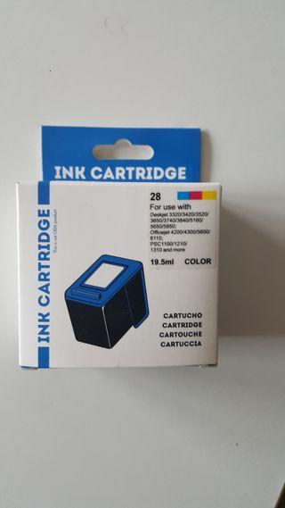 Tinta impresora, sin usar