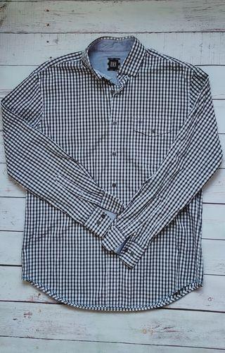 Camisa hombre cuadros de Pedro del Hierro