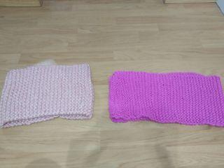 Bufandas hechas por lana