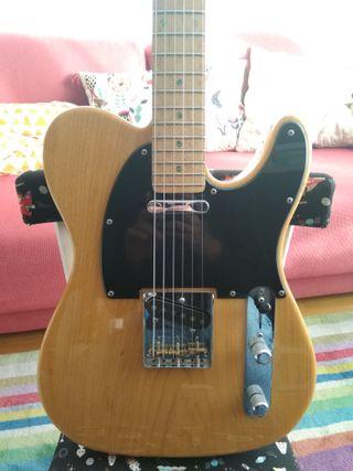 Guitarra Fender Telecaster Lite Ash muy mejorada