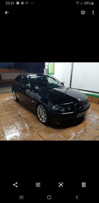 BMW Serie 3 compact..coche muy cuidado siempre en parking. también se cambiaría por e 90 4 puertas Ford focus o similar