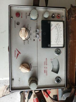 promax medidor de campo tipo SF 580