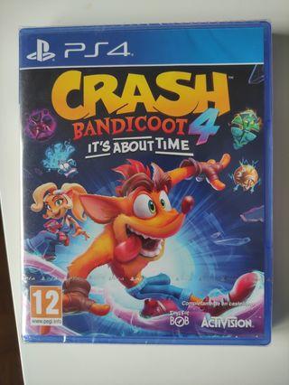 Videojuego Crash Bandicoot 4
