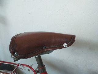 sillin bicicleta clásica para restaurar