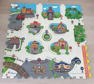 Alfombra puzzle Chicco ciudad