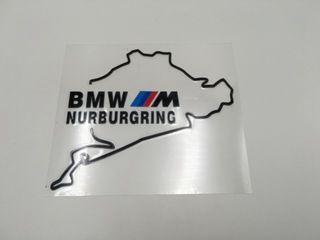 Nuevo PEGATINAS BMW M NURBURGRING NEGRO