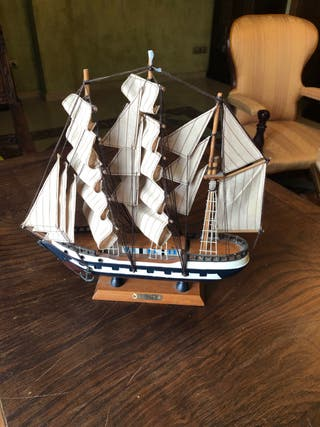 Maqueta barco clipper
