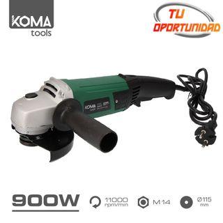 Amoladora 900W Koma Tools